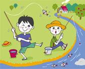 تعلم طرق صيد السمك بالسنارة (القصبة)