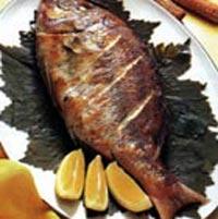 سمكة بنت النواخذة مشوية (الفسكر المشوي)