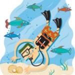 كيف يمكنك الاستدلال على اتجاهك تحت الماء ( أثناء الغوص )  بدون بوصلة