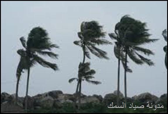 الرياح أسماؤها و أنواعها